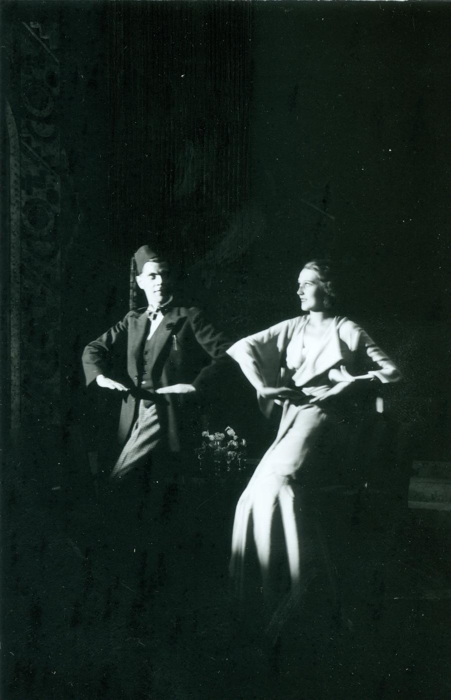 Savoy ball (1933) A. Lüüdik, M. Laid