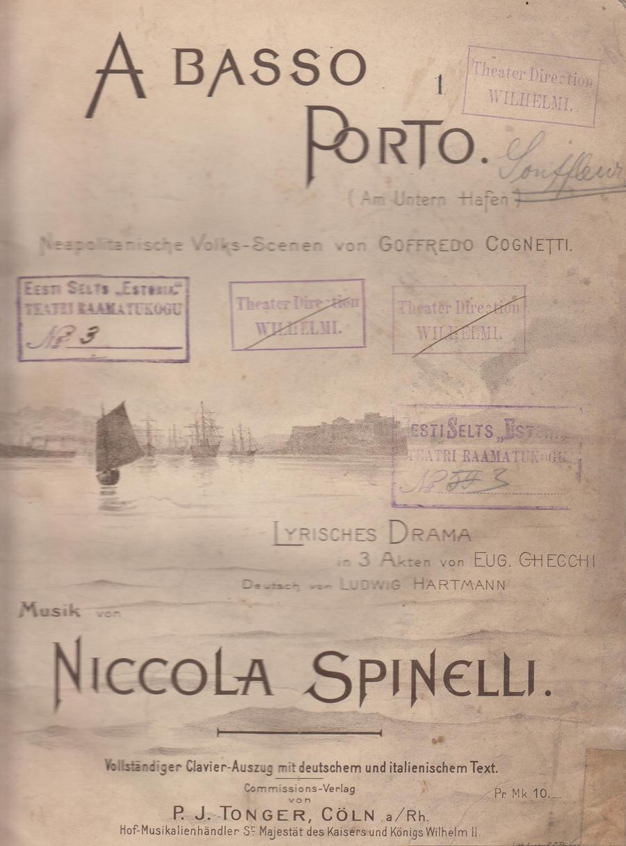 Spinelli A Basso Porto