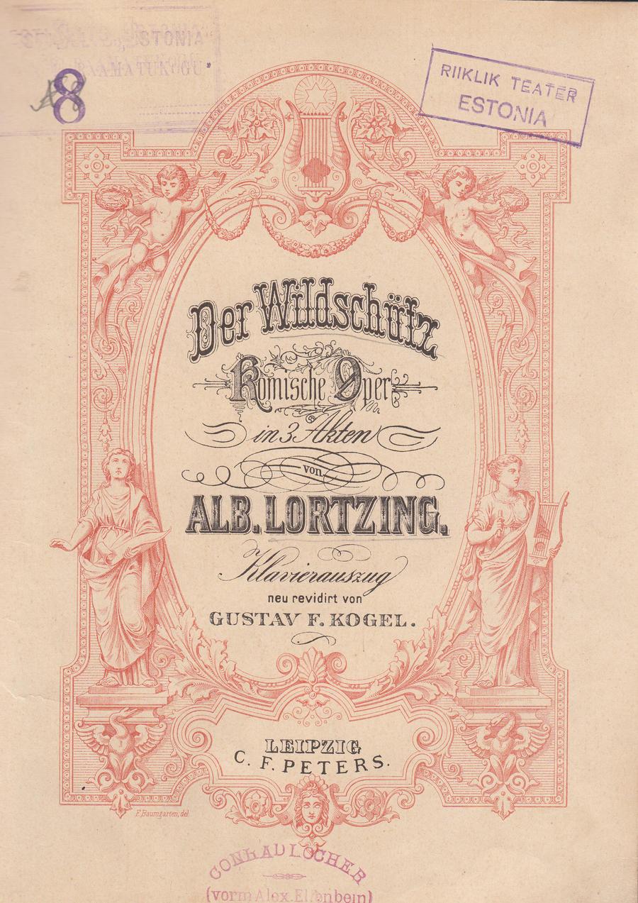 Lortzing Der Wildschütz (Salakütt)
