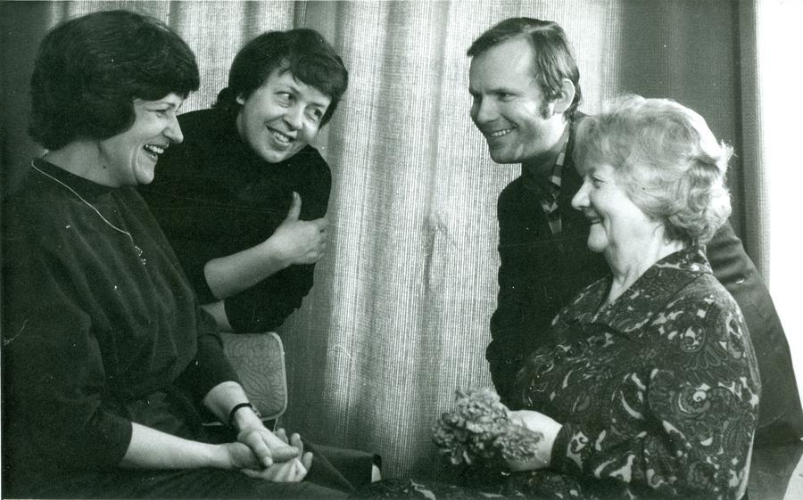 Urve Tauts, Marvi Taggo, Hans Miilberg, Klaudia Taev (1980)