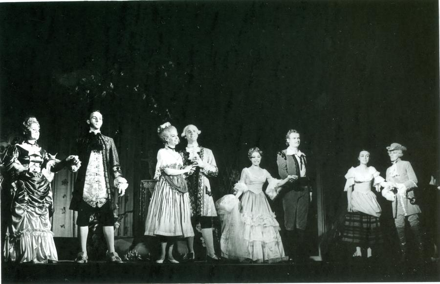 Eensalu, Valdma, Raamat, Miilberg, Puura, Puura, Vibur, Talvik (Figaro pulm 1976)