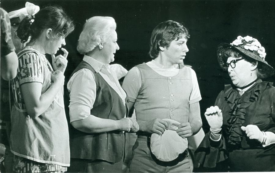 Katrin KUmpan, Asta Vihandi, Jüri Trei, Eva Meil (Pipi Pikksukk 1975)
