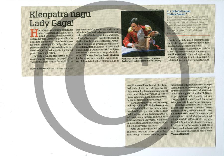 Kleopatra nagu Lady Gaga_EE
