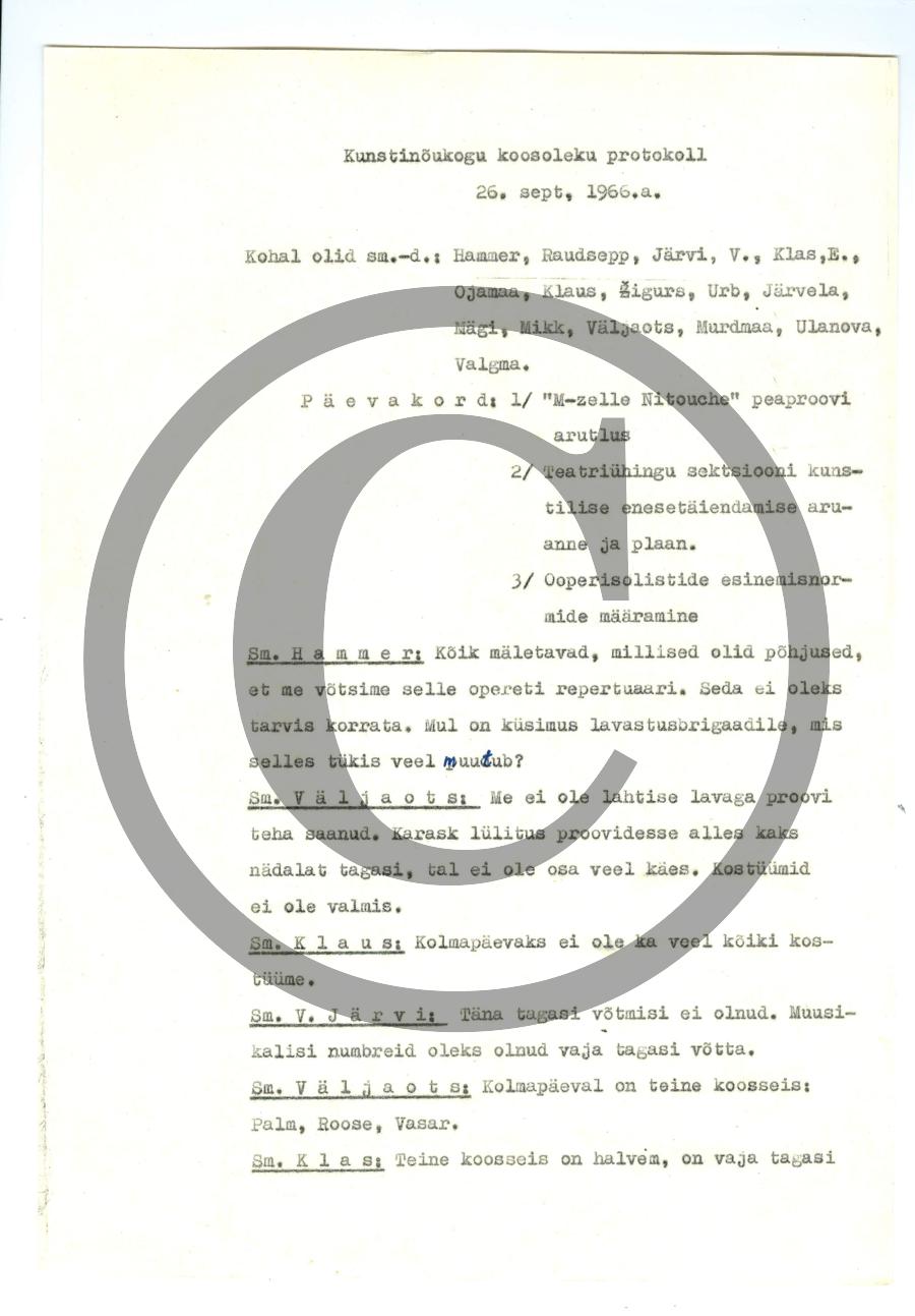 protokoll26.9.1966