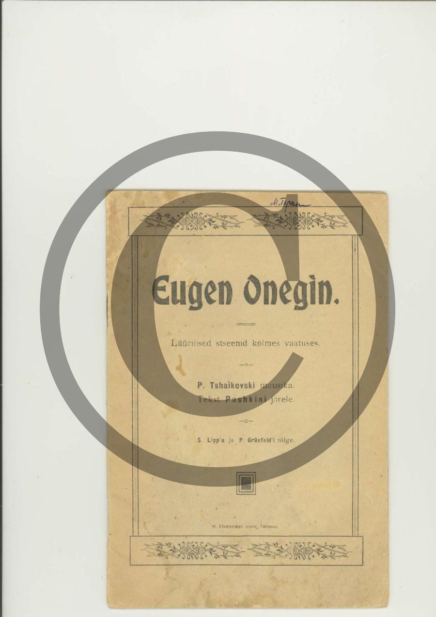 EugenOnegin_tekstiraamat