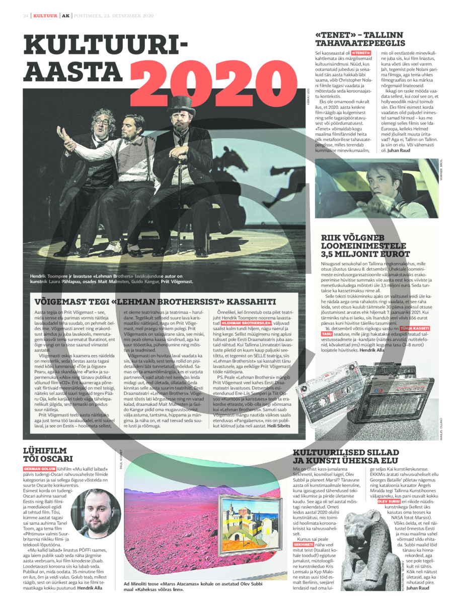 Kultuuriaasta 2020