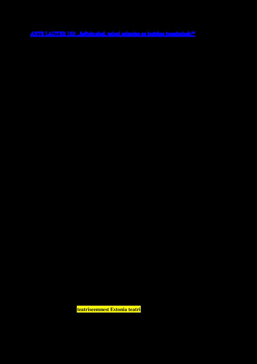 ANTS LAUTER 125