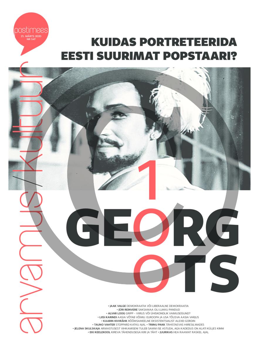 Kuidas portreteerida Georg Otsa?