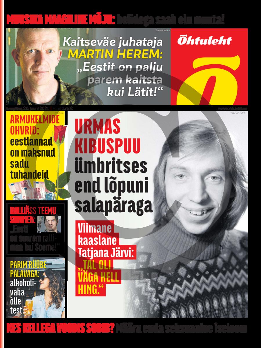 """Urmas kibuspuu viimane kaaslane Tatjana Järvi- """"Urmas oli minu jaoks kui tabamata ime."""""""