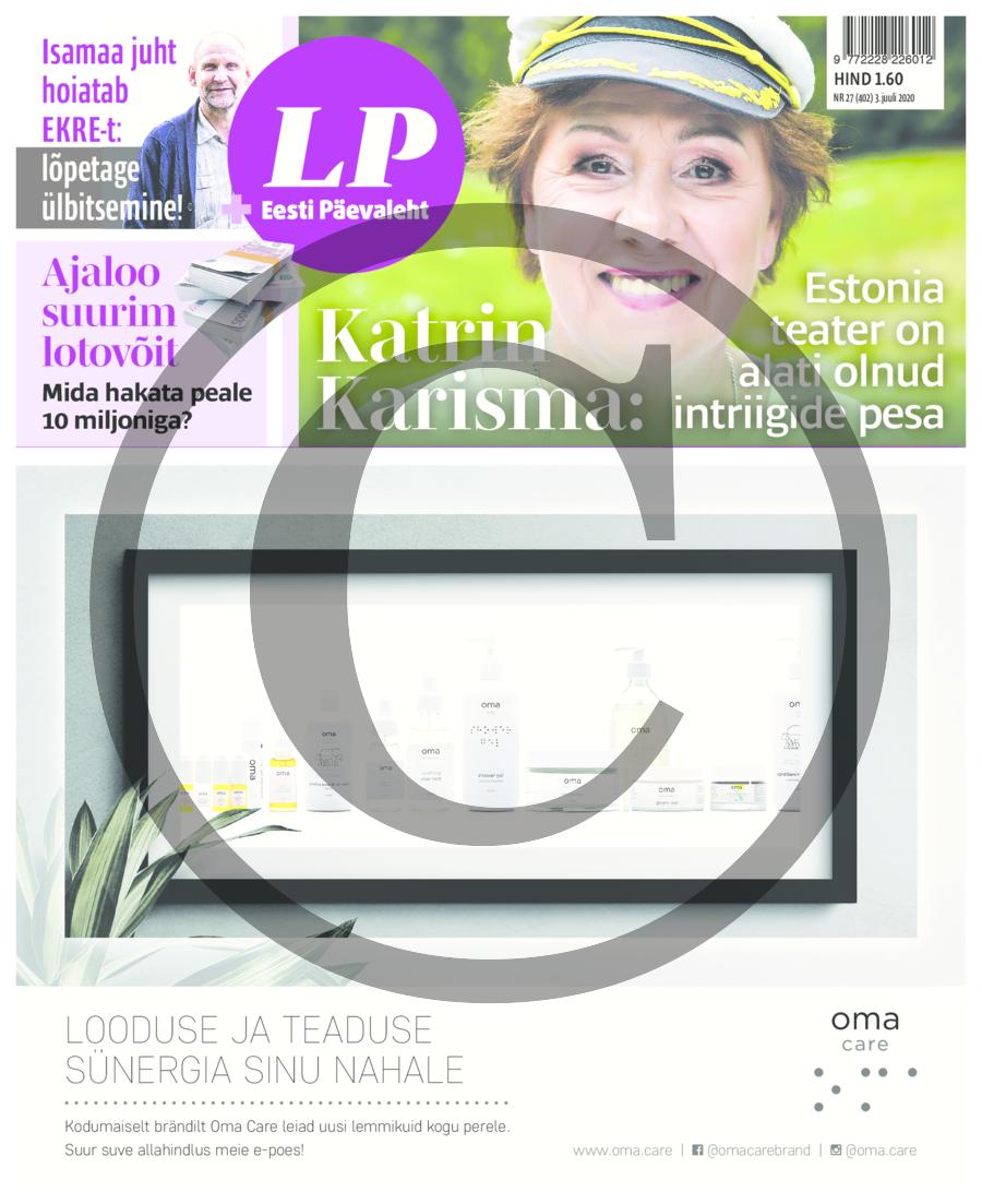 Katrin Karisma- inimene, kes pole olnud elus õnnetu, ei tunneta ka õnne suurust