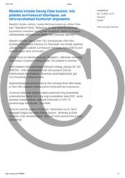 Maalehe kirjutis Georg Otsa laulust mis päästis surmasuust tütarlapse sai rahvusvahelisel konkursil eripreemia.pdf
