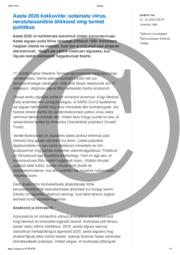 Aasta 2020 kokkuvõte- ootamatu viirus revolutsiooniline õhkkond ning tormid poliitikas.pdf
