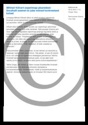 Mihhail Kõlvart ooperimaja plaanidest- linnahalli asemel on juba mõned konkreetsed kohad.pdf