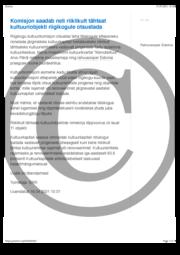 Komisjon saadab neli riiklikult tähtsat kultuuriobjekti riigikogule otsustada.pdf