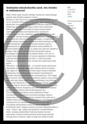 Sotsiaalse seisukohavõtu sund mis õnneks ei realiseerunud.pdf